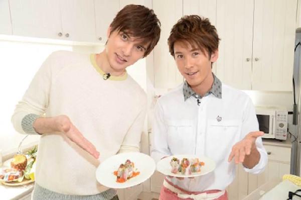 寺田真二郎と城田優は過去に料理番組で共演